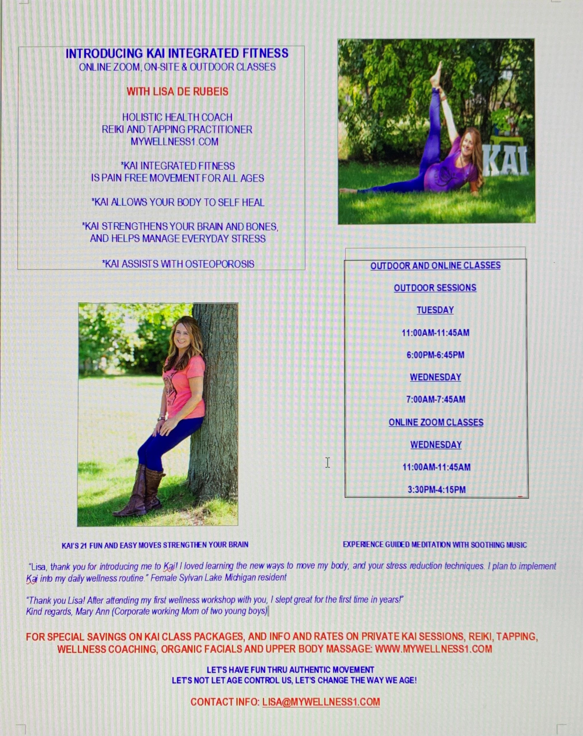 Lisa Flyer For Website
